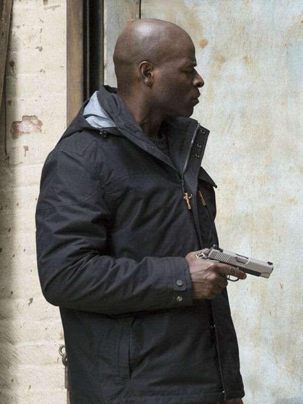 Dembe Zuma The Blacklist Hooded Jacket