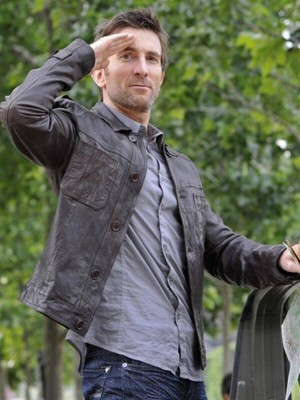 Sharlto Copley Classic Brown Jacket