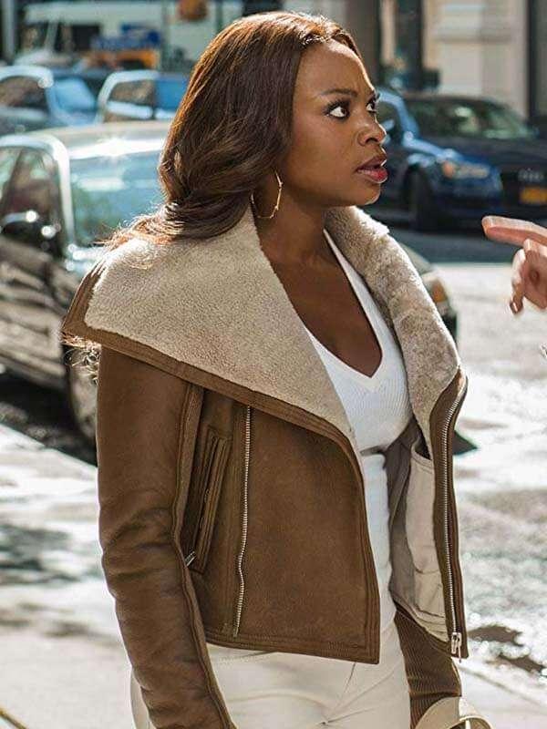 Drama Series Power Naturi Naughton Leather Jacket