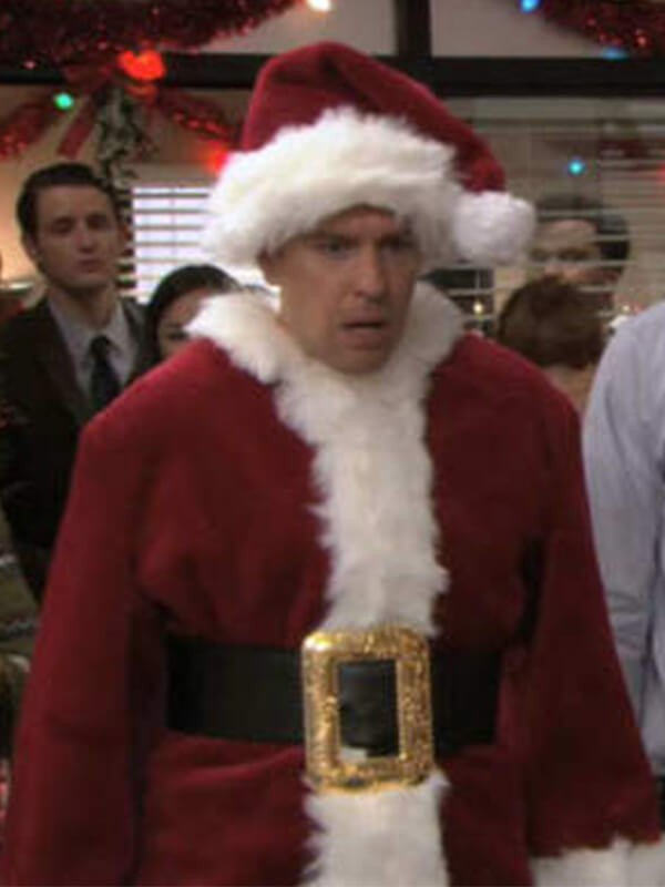 Ed Helms Santa Claus Costume