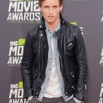 Eddie Redmayne MTV Awards Leather Jacket