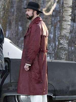 TV Series Fargo Todd Mann Leather Coat