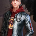 Free Fire Maxim Silver Leather Jacket