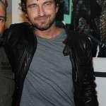 Gerard Butler Biker Leather Jacket