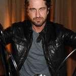 Gerard Butler Moto Leather Jacket
