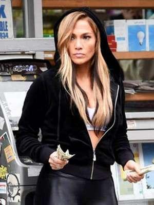 Hustlers Jennifer Lopez Hoodie Jacket