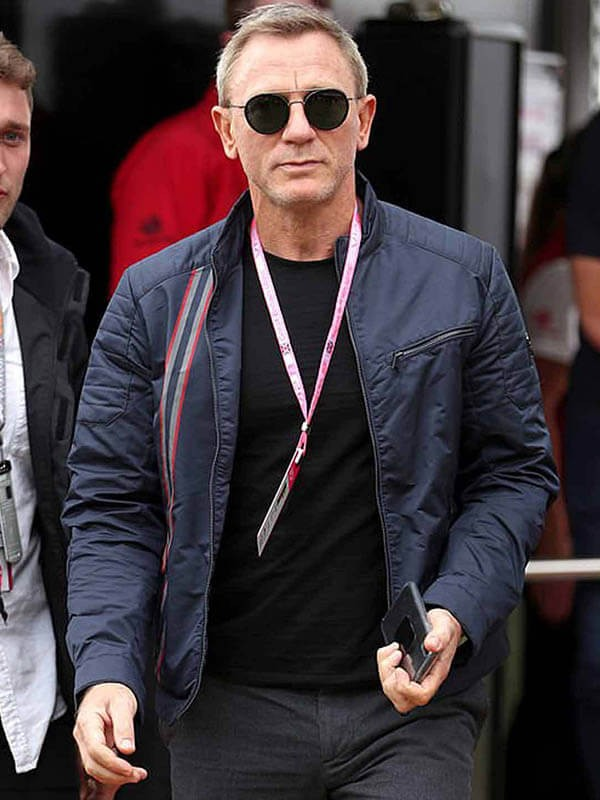 James Bond No Time To Die Daniel Craig Cotton Jacket