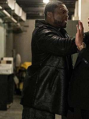 50 Cent Power Series Kana Leather Jacket