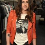 Kristen Stewart Asymmetrical Zipper Jacket