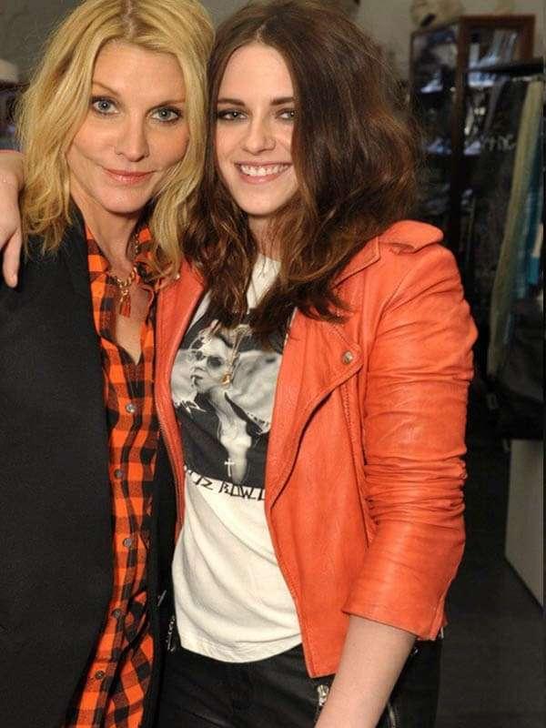 Kristen Stewart Orange Jacket