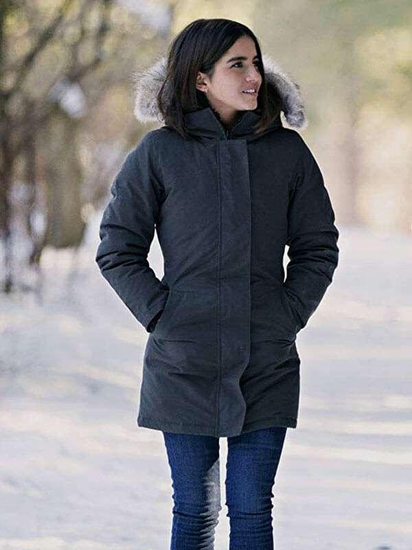 Let It Snow Isabela Merced Jacket