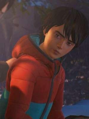 Life Is Strange 2 Daniel Diaz Red and Blue Hoodie Jacket