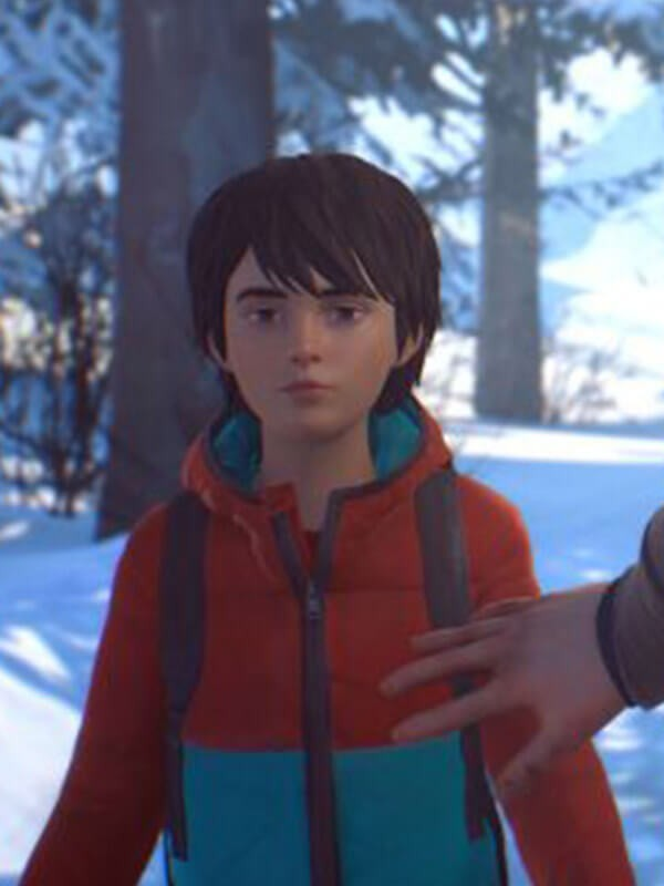 Life Is Strange 2 Daniel Diaz Red and Blue Hoodie Jacket