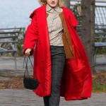 Modern Love Tv Series Maddy Red Hooded Coat