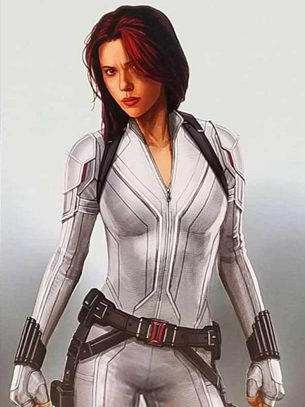 Natasha Romanoff Black Widow Leather Jacket