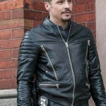 Nick Wechsler Chicago P.D Kenny Rixton Motorcycle Jacket