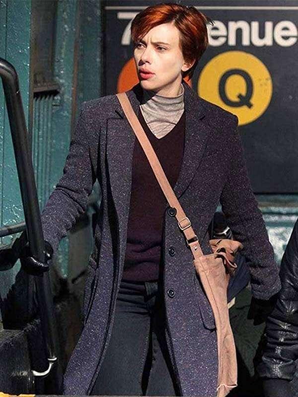 Nicole Marriage Story Scarlett Johansson Trench Coat