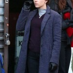 Nicole Marriage Story Wool Trench Coat
