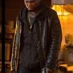 Power 50 Cent Black Shearling Jacket