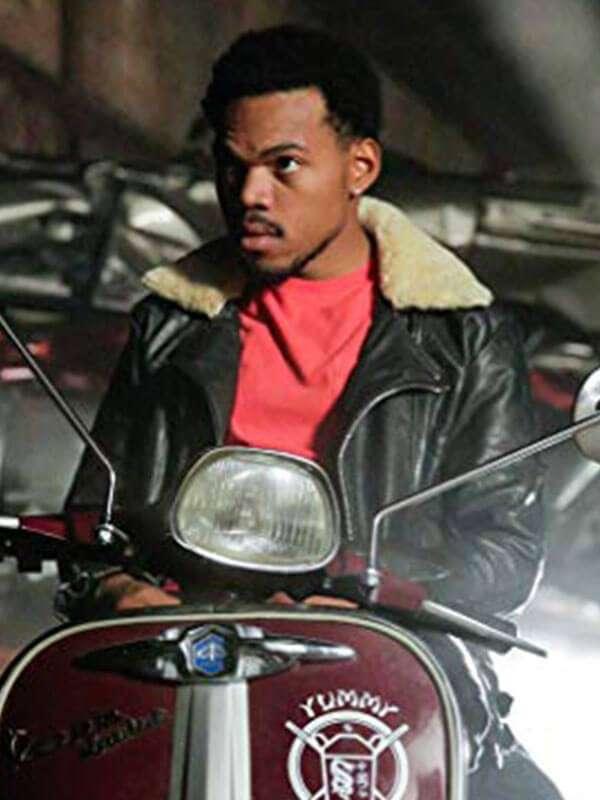 Slice Dax Leather Jacket