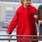 TV Series Modern Love Julia Graner Red Coat