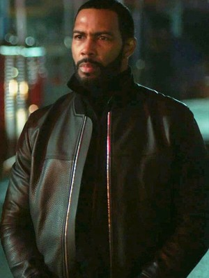 Power James St. Patrick Black Leather Jacket