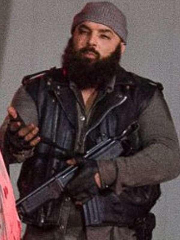 TV Series The Walking Dead Carlos Aviles Leather Vest