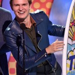 Teen Choice Awards Event Ansel Elgort Jacket