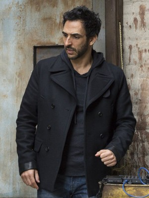 The Blacklist Amir Arison Black Jacket