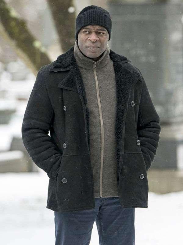 The Blacklist Dembe Zuma Suede Leather Jacket