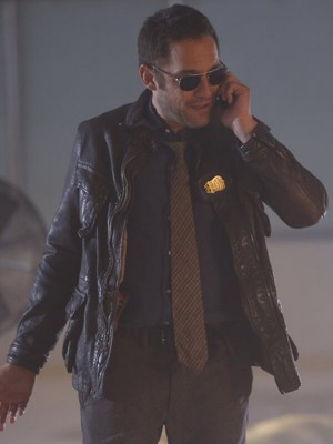 The Blacklist Enrique Murciano Leather Jacket