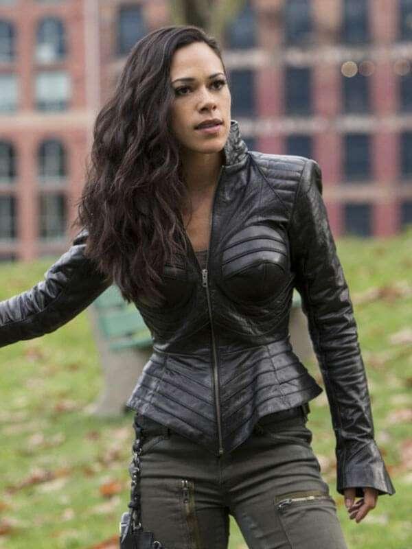 The Flash Jessica Camacho Leather Jacket