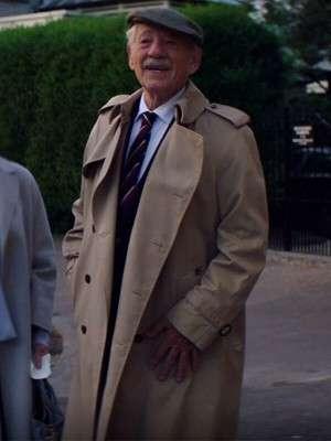 The Good Liar Ian McKellen Lightweight Coat