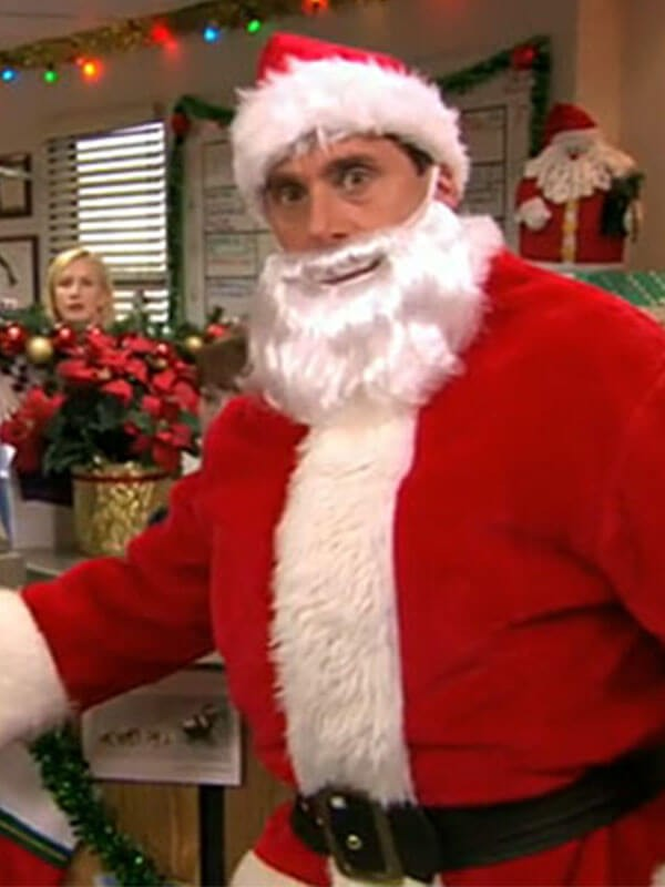 The Office Michael Scott Santa Coat