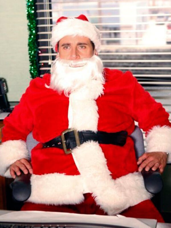 The Office Steve Carell Santa Coat