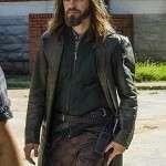 The Walking Dead Tom Payne Leather Coat