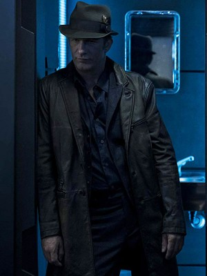 Thomas Jane The Expanse Leather Jacket
