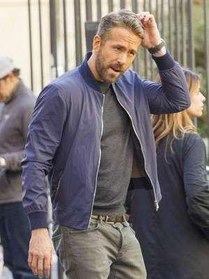 6 Underground Ryan Reynolds Bomber Jacket