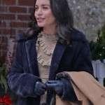 Vanessa Hudgens Black Jacket