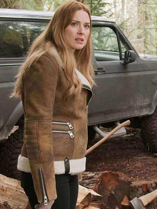 Virgin River Tv Series Melinda Monroe Shearling Jacket