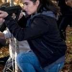 Walking Dead Series Alanna Masterson Black Jacket