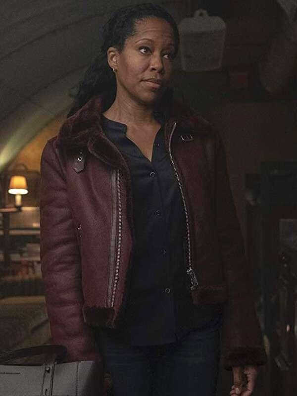 Watchmen Angela Abar Leather Jacket