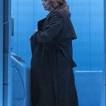 Watchmen Jean Smart Black Coat
