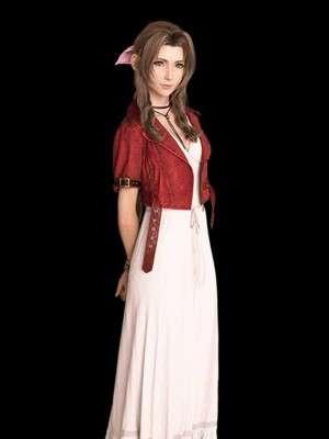 Final Fantasy 7 Remake Aerith Gainsborough Leather Jacket