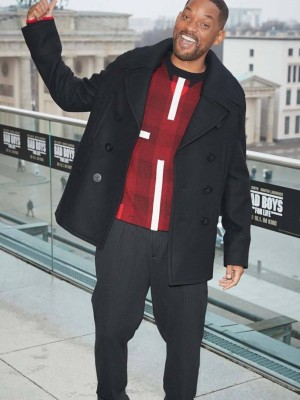 Will Smith Bad Boys For Life Wool Coat