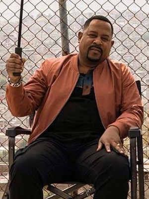 Bad Boys For Life Martin Lawrence Bomber Leather Jacket