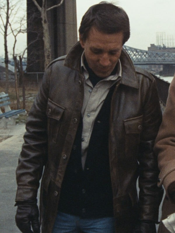 Buddy The Seven-Ups Brown Leather Jacket