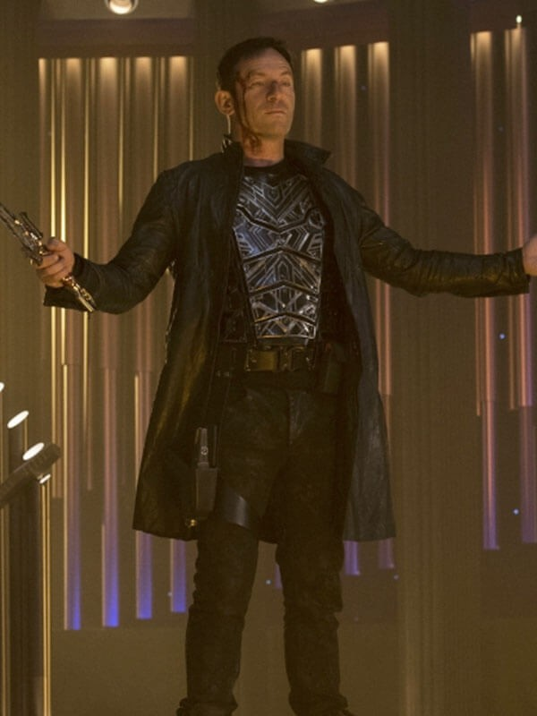 Captain Gabriel Lorca Leather Coat From Star Trek Discovery