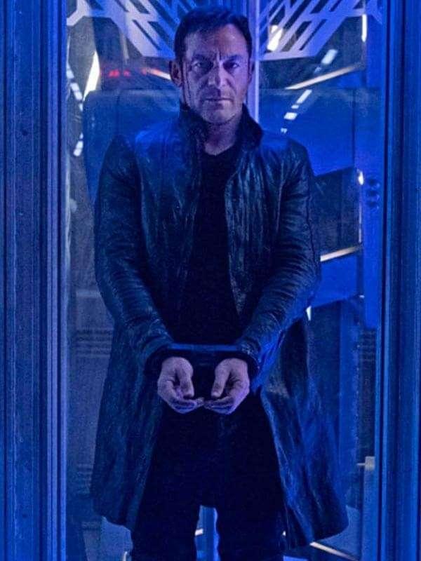Captain Gabriel Lorca TV Series Star Trek Discovery Leather Coat