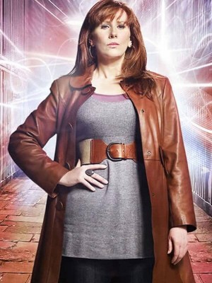 Doctor Who Donna Noble Leather Coat